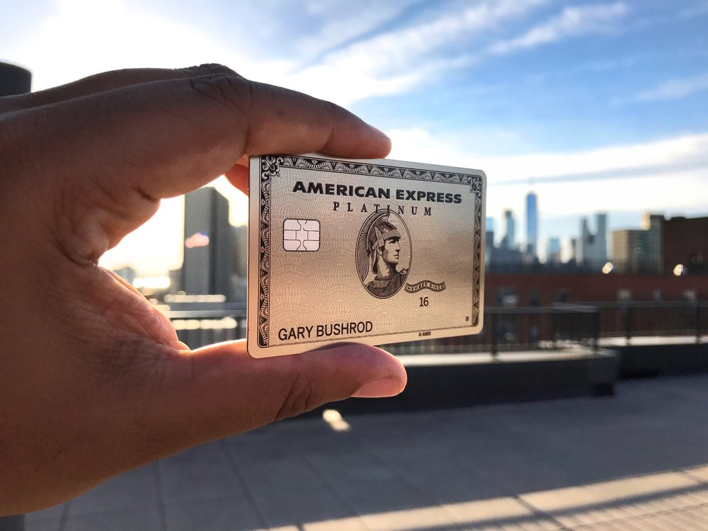 The Platinum American Express card now comes in metal.