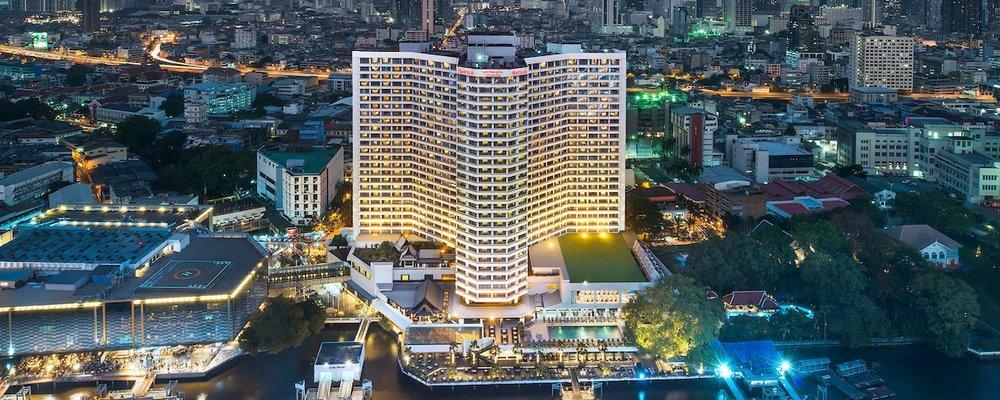 Royal Orchid Sheraton Hotel & Towers in Bangkok.