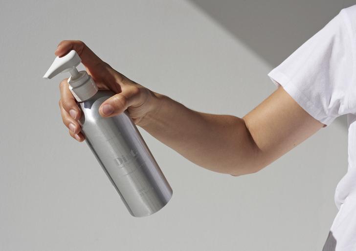 Dirt refillable bottle