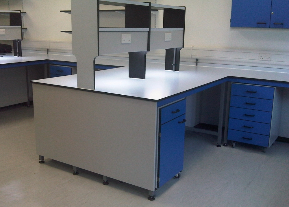 AJT Laboratory furniture Design Trespa toplab Trespa Worktops School refurb School furniture Associated Joinery Techniques