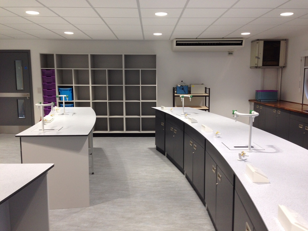 AJT Laboratory Furniture Design Refurbishment Associated Joinery Techniques Trespa Worktops