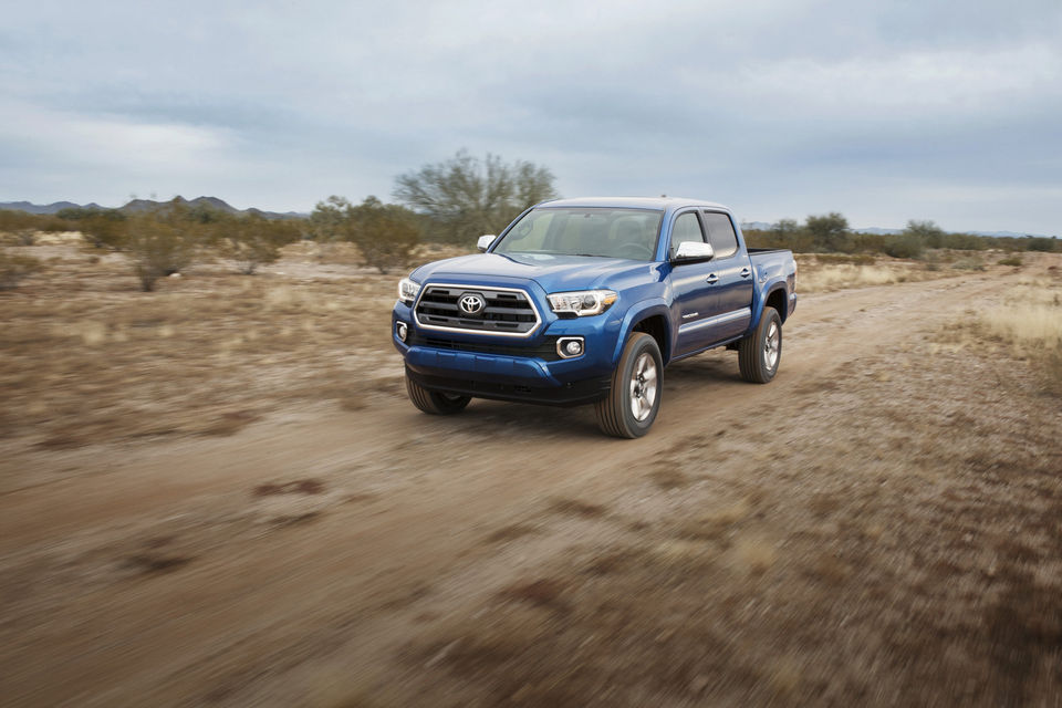The all new Toyota Tacoma Picture courtesy of Michigan Live http://www.mlive.com/auto/index.ssf/2015/08/pricing_announced_for_2016_toy.html