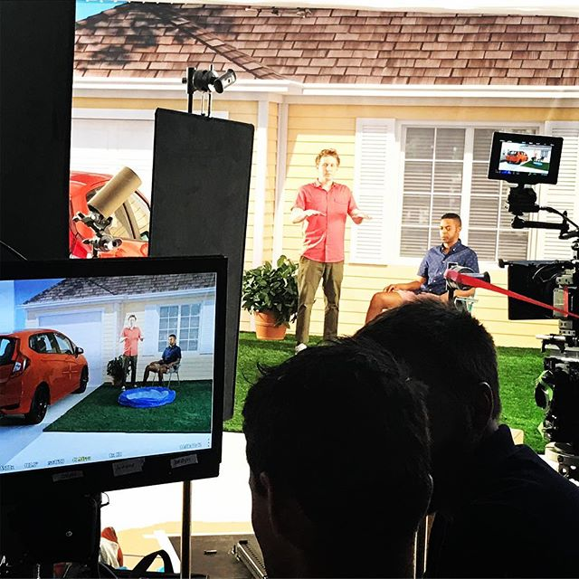 Picture in picture in picture.  #bts #setlife #actorslife #AmIAsleep #Maybe #honda  https://youtu.be/xKR5rksTc_o