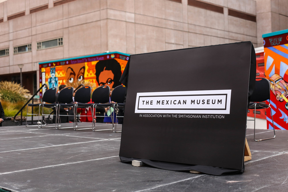 Dedication ceremony for The Mexican Museum in San Francisco, California. Tuesday, July 19, 2016. Jessica Webb