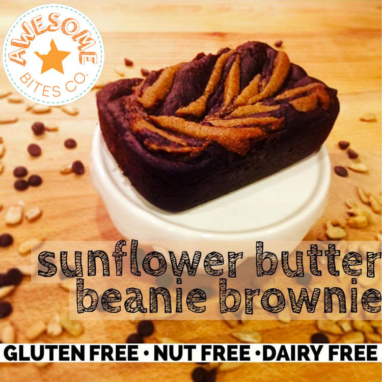 Sunflower Butter Beanie Brownie