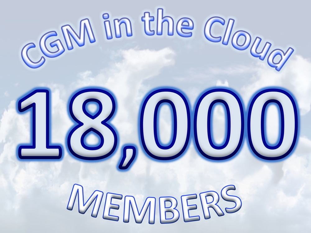 "Over 150 people a week join the ""CGM in the Cloud"" Facebook group (the world's largest Type-1 Diabetes Facebook group in the world)."