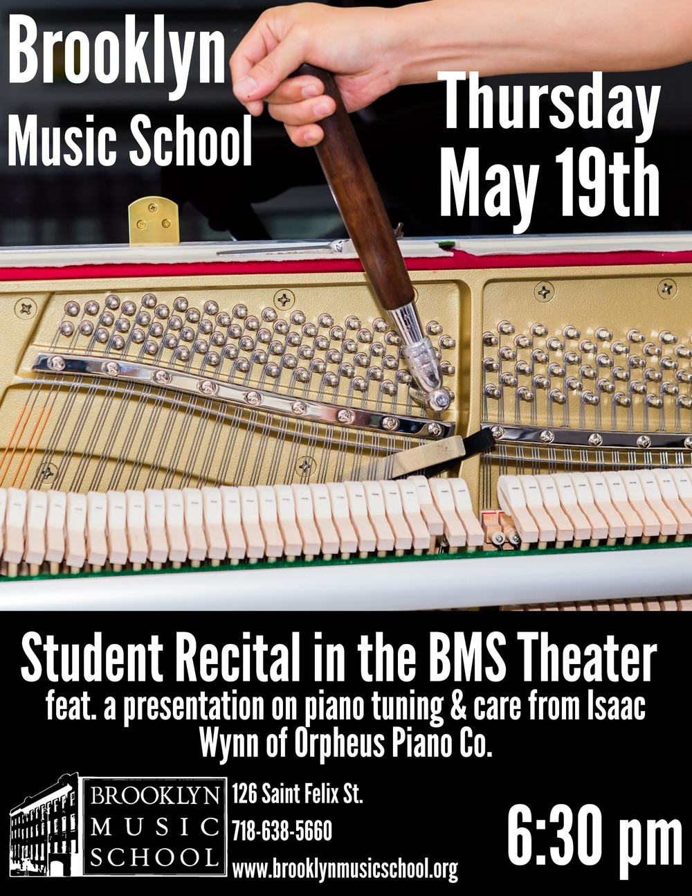 brooklyn piano tuner brooklyn music school presentation
