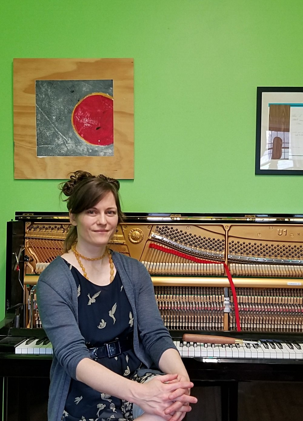 Tracy Cowart Piano Tuner at Brooklyn Music School
