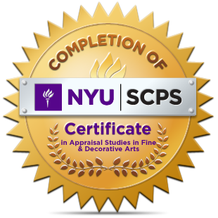 New York University Program in Appraisal Studies in Fine and Decorative Arts Certificate