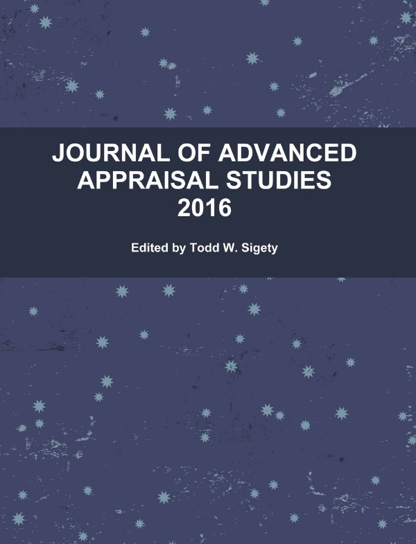 Journal of Advanced Appraisal Studies