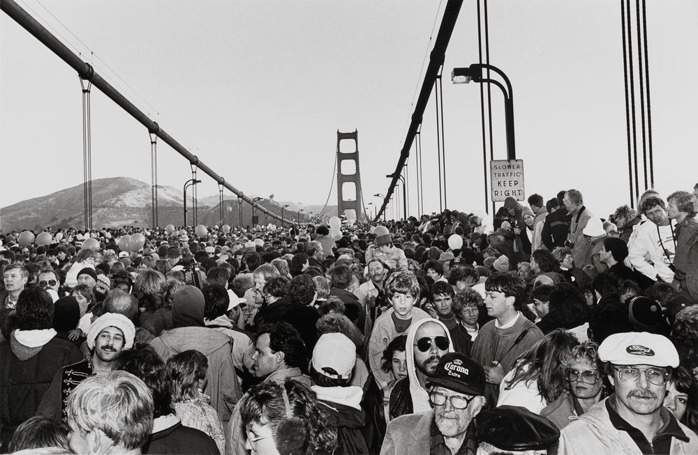 Michael Jang,  Golden Gate Bridge Fiftieth Anniversary , 1987