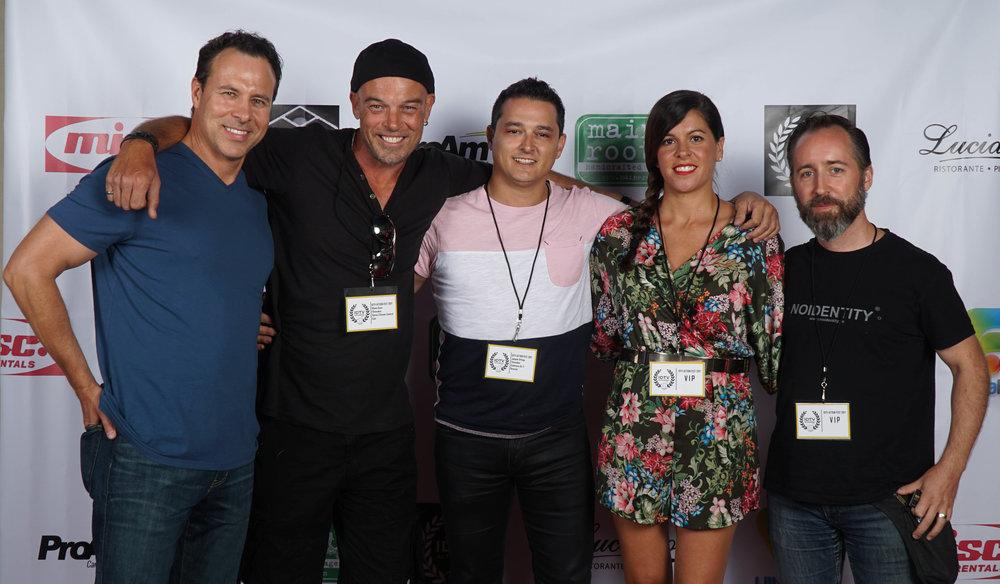 Larry Coulter, Shane Dean, Joaquin Ortega, Maripaz Gutierrez Linan, and guests