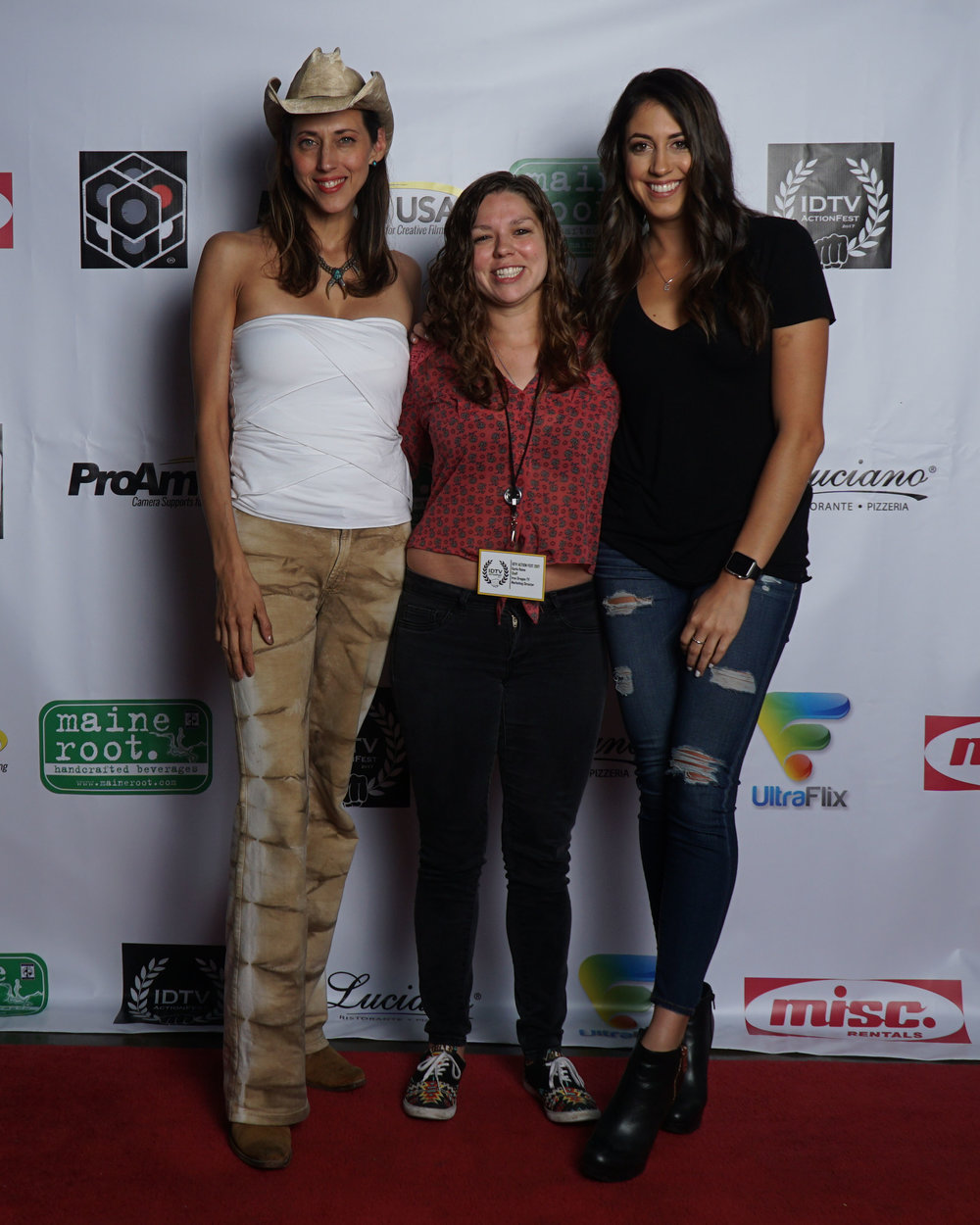 Patricia Vonne, Karla Reina, and Caitlin Dechelle