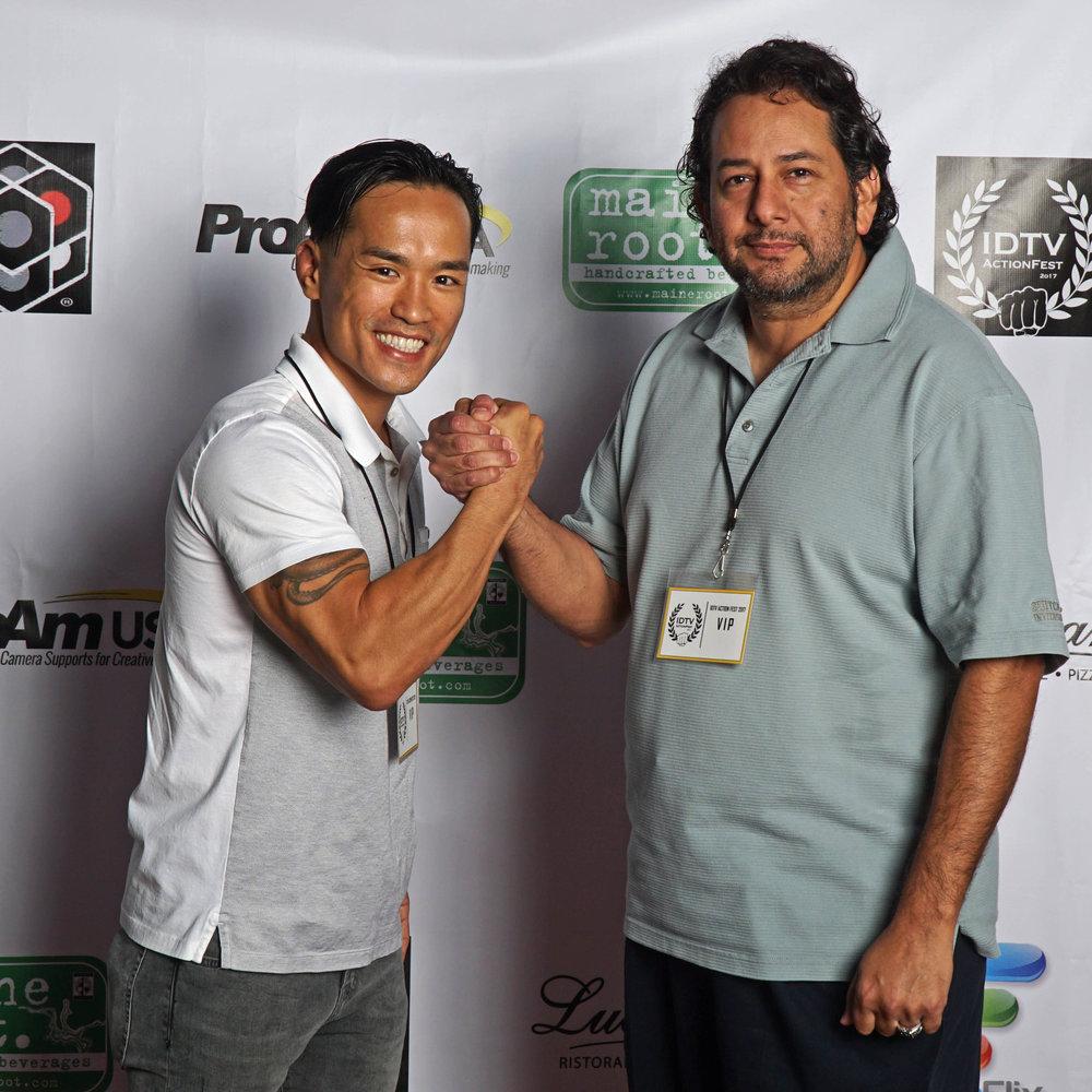 David Tran Nguyen and guest