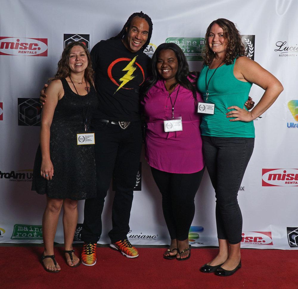 Karla Reina, TJ Storm, Crista Merix, and Lisa Gauvan