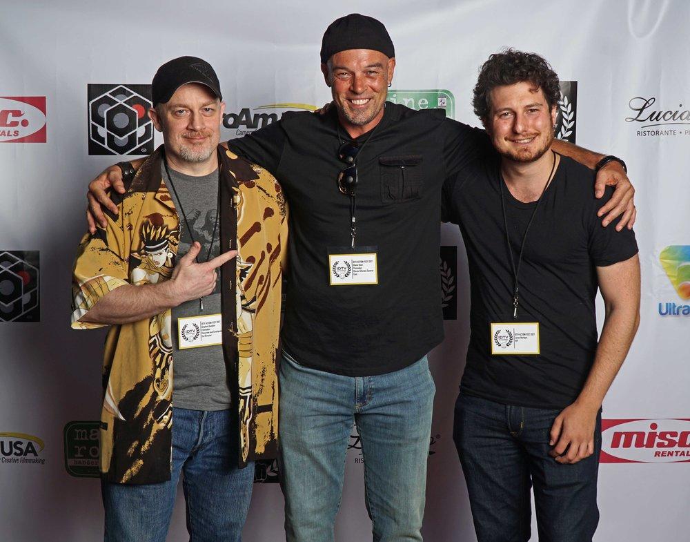 Stephen Koepfer, Shane Dean, and Loren Herbert