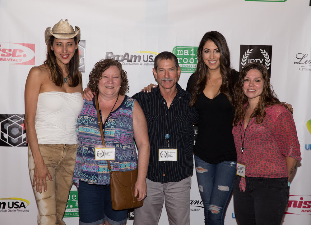 Patricia Vonne, Caitlin Dechelle, Karla Reina and family