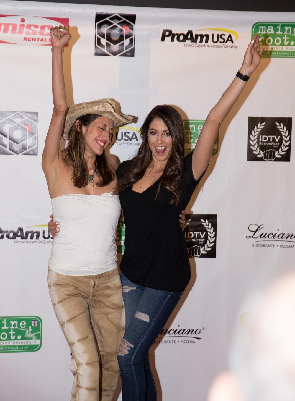 Patricia Vonne and Caitlin Dechelle