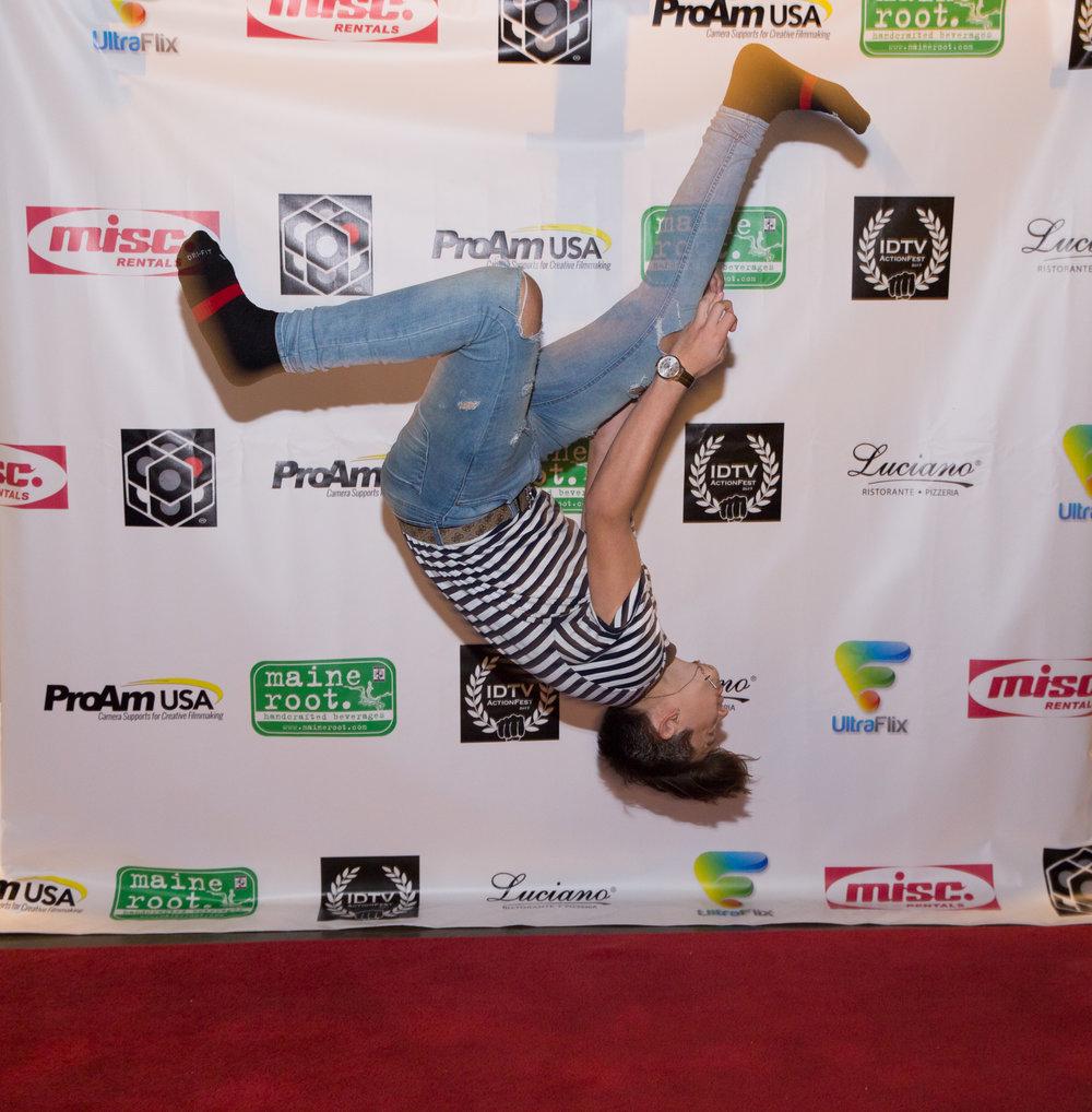 Seth Lee, mid flip