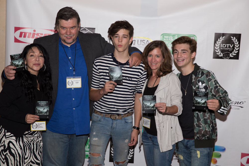 Janell Smith, Mike Lee, Seth Lee, Becca Presley and Jake Presley