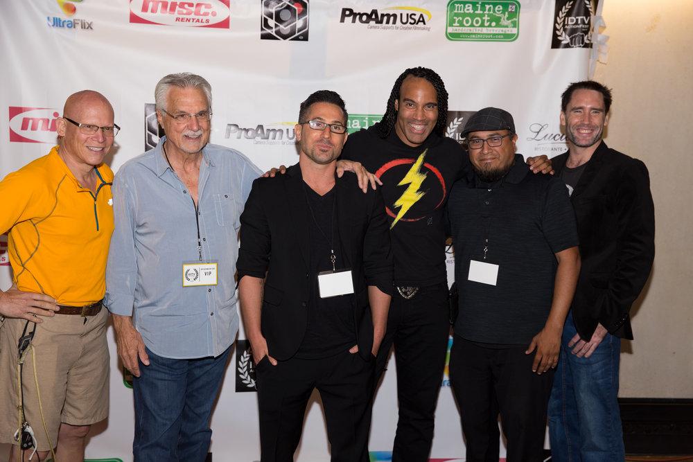 Steve Wolf, Tommy Warren, James Buzzacco, Ali Brown, and TJ Storm