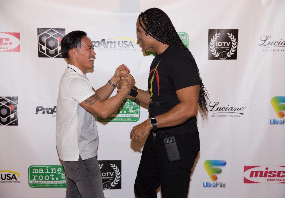 David Tran Nguyen and TJ Storm