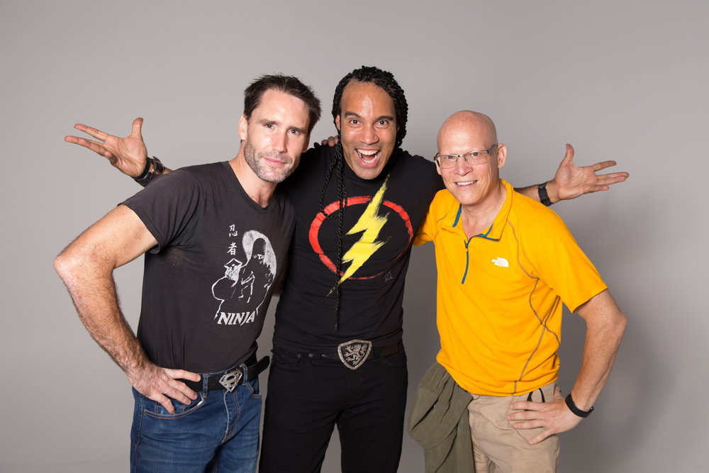Ali Brown, TJ Storm, and Steve Wolf