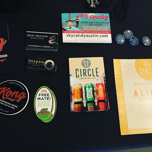 Just a handful of some of our amazing sponsors. Thank you so much for the help and support. @circlebrew @juiceland