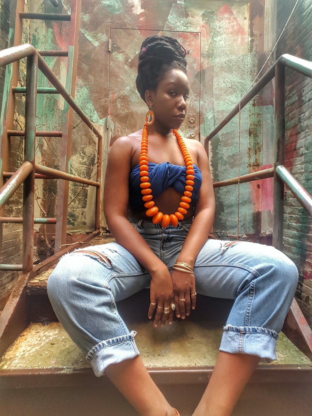 Queen adwoa's Closet Amber Necklace 1.jpeg