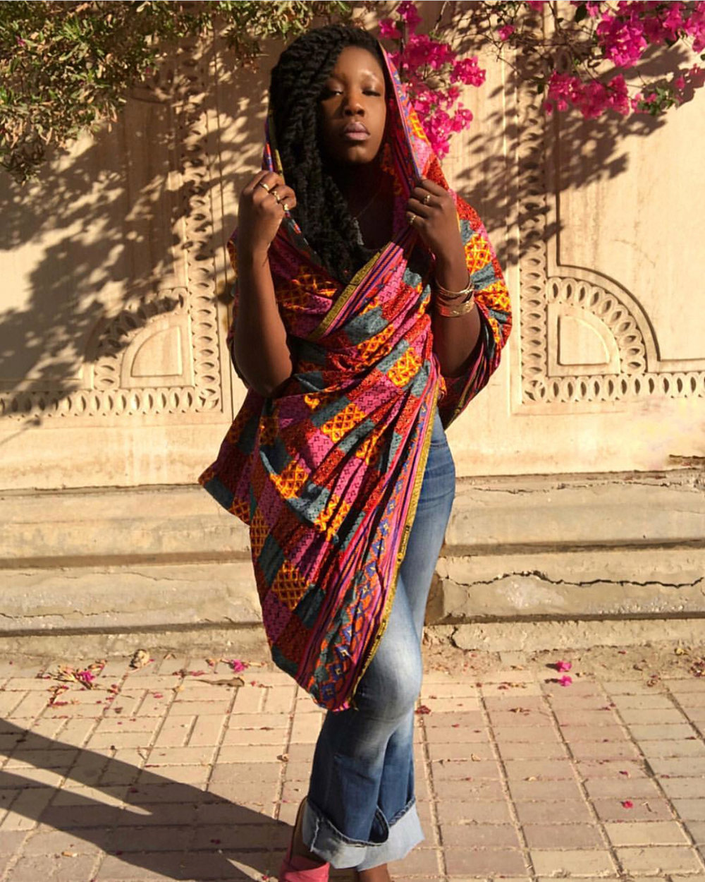 Queen Adwoa's Closet Head Wrap African Fabric 2.JPG
