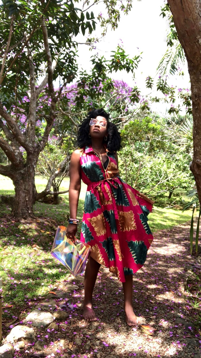 Queen Adwoa's Closet Mauritius Bubble Lodge