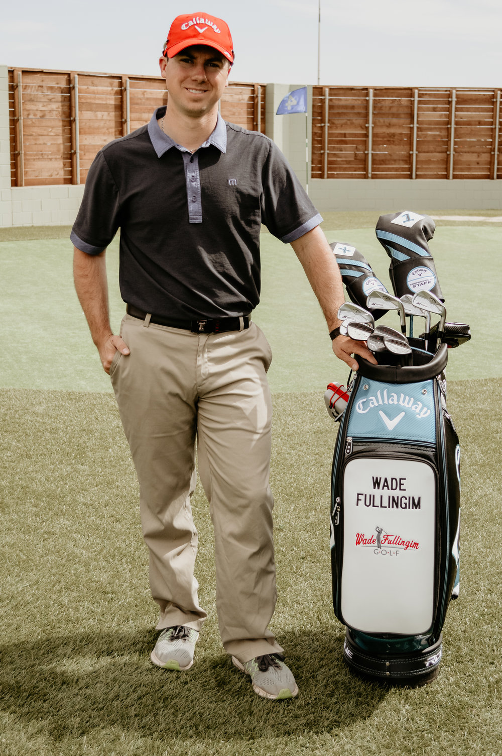 Meet Wade  - PGA Apprentice/Teaching ProfessionalWade grew up playing golf at an early age of 10 years old. He played competitive golf for 12 years as a junior and had great success. In 2012 he started teaching at Lubbock Country Club in Lubbock, Texas. He dedicated himself to learning how to become the best teacher/coach he could be. He holds over 10 certifications in the golf industry and he obtained them all in less than 5 Years. Wade is dedicated to improving your game by the passion he brings. No one love what they do more than Wade.