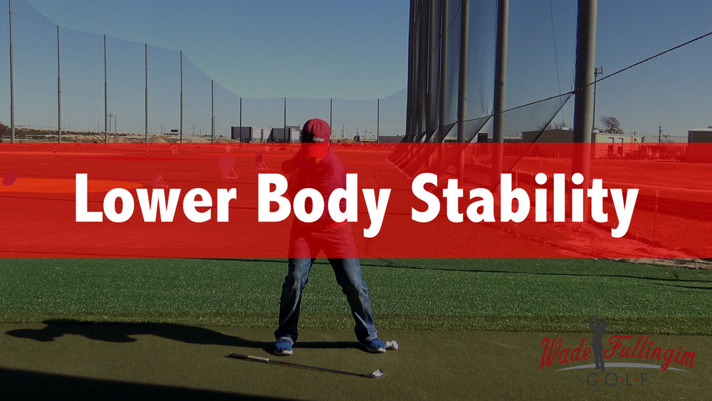 This segment will help you create a stable lower body and a consistent swing. Your lower body is what connects with the ground. Just like the foundation of your house, if your foundation is unstable your upper body can't stabilize and therefore can't  create consistency.