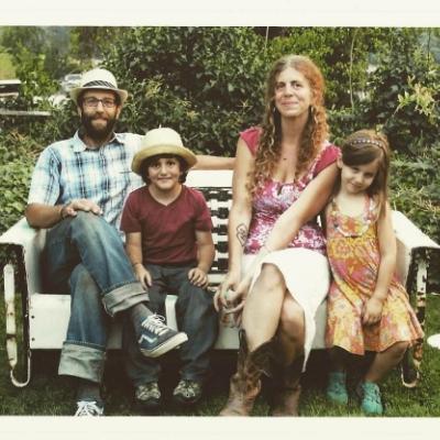 Josh, Everett, Melissa & Eva