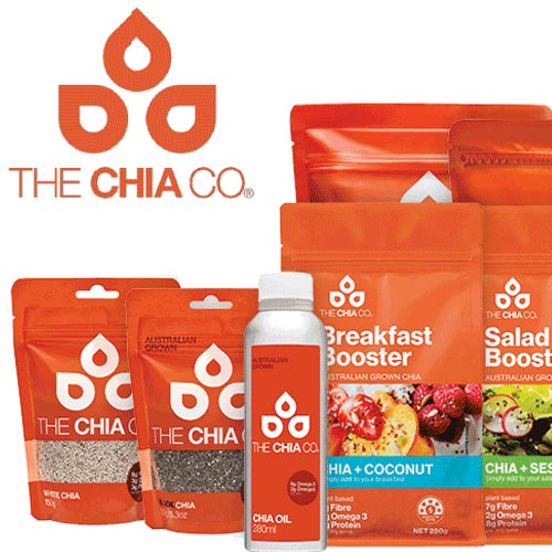 Australian Grown Chia Seed, bursting with fibre, omega-3 ALA and protein. We guarantee the high quality in our chia.