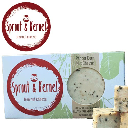 Hand made in Sydney, Sprout and Kernel is an all-natural range of vegan cheeses that actually taste like cheese!