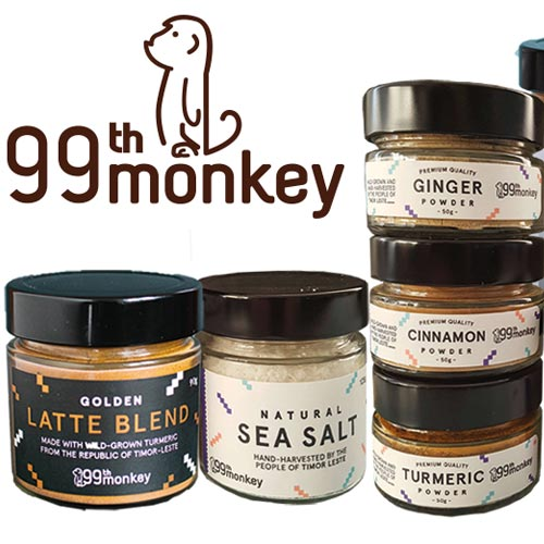 99th Monkey creates products that are good for your health, good for your planet and great for your tastebuds.