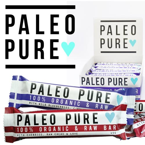 Paleo Pure make crunchy, oven baked grain free muesli  AND NATURALLY SWEETENED BARS by hand. andit tastes amazing every time.