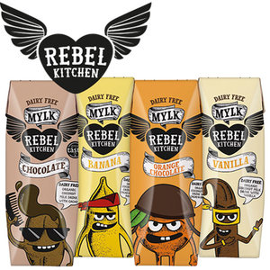 Rebel Kitchen are vegan-approved and naturally sweetened with date nectar.