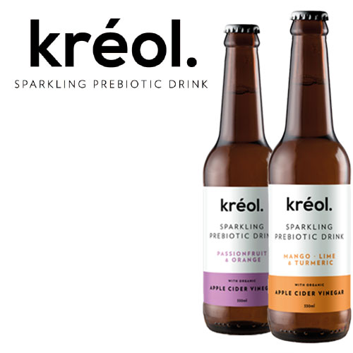 Kreol Sparkling is derived from an apple cider vinegar drink know as Switchel, which originated in the Carribean.