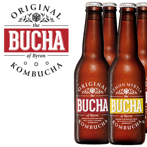 Brewed in Byron Bay, The Bucha of Byron is a sparkling, raw fermented drink, brimming with probiotics and enzymes.