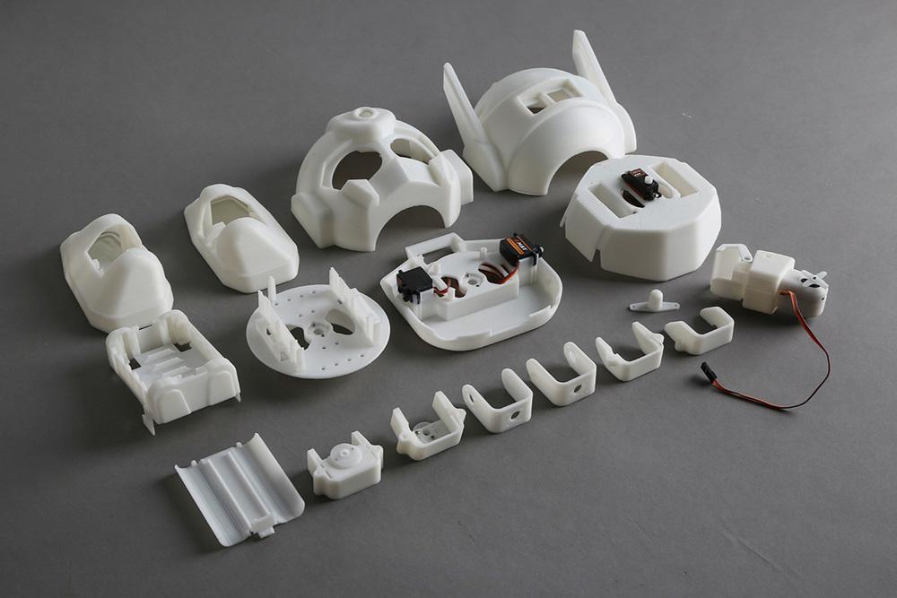 RAPIRO Robot parts