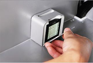 Air Filter in Mankati E180 Desktop 3D Printer