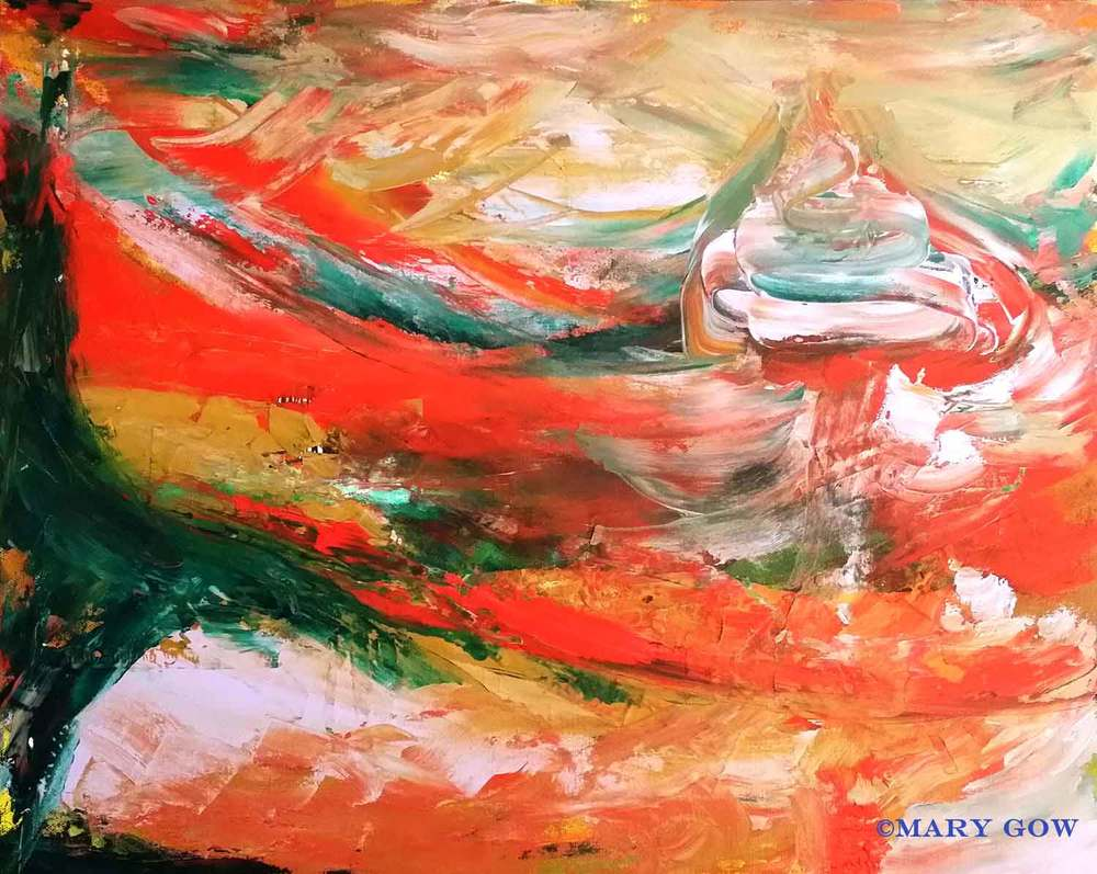 Abstract 523 - Ode to Gerhard Richter