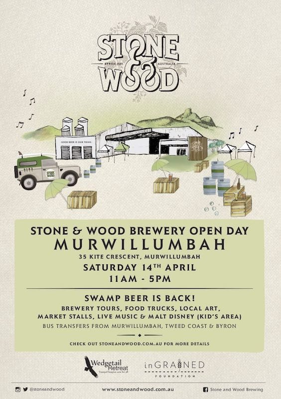 Stone and wood brewery open day
