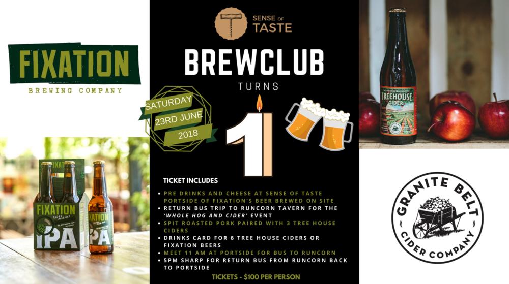Sense of Taste - Brewclub