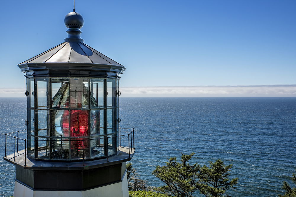 Cape Meares Lighthouse - A great place to watch for whales.