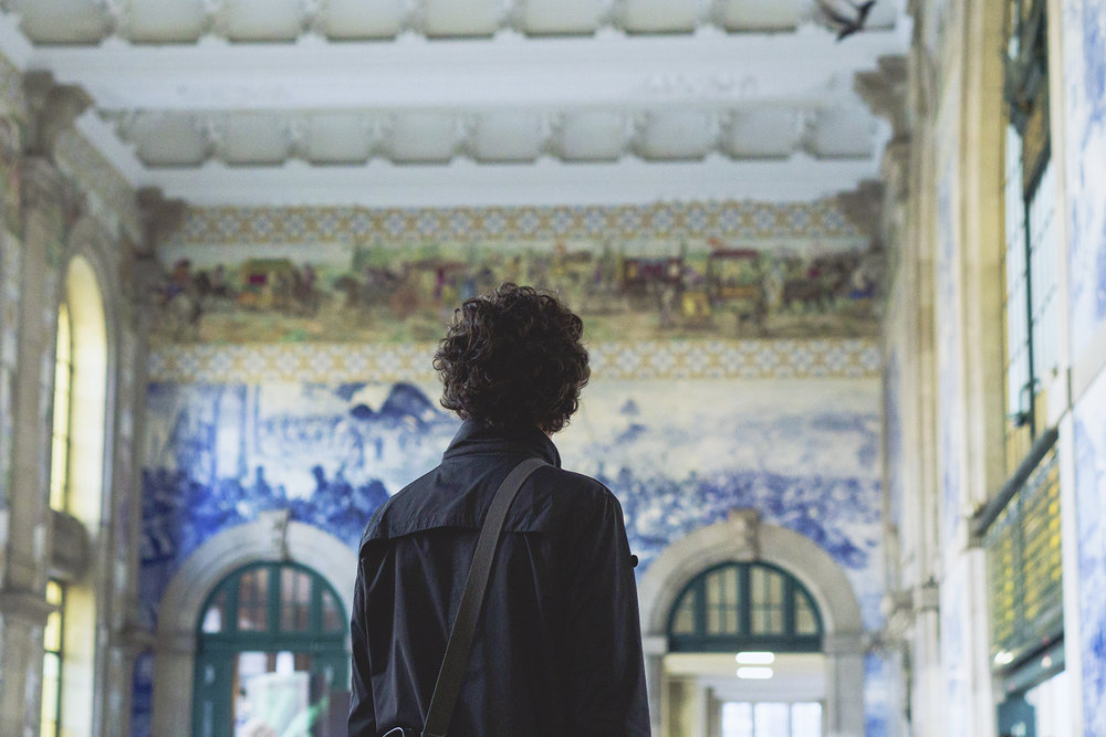 Weekend in Porto - Sao Bento Railaway Station