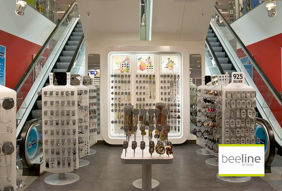 beeline, Visual Merchandising strategies, Retail Solution