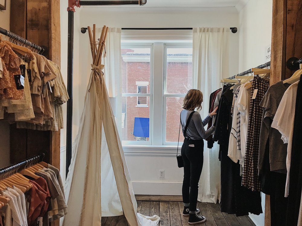 Clients, magasins physiques
